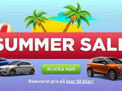Sommar-Rea på bilar hos Bjurkell Bil!