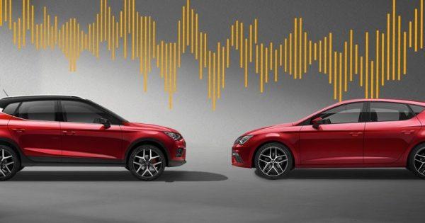 SEAT BeatsAudio bjurkell bil