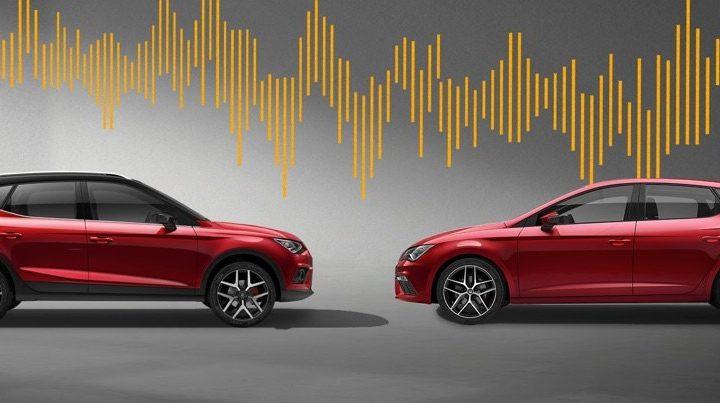 Välj en SEAT med BeatsAudio™ och tryck på play