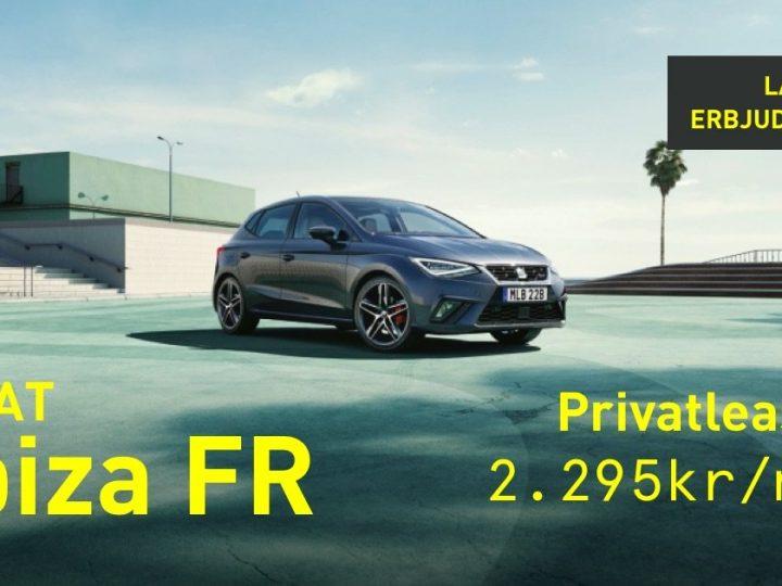 Lagerrensning på SEAT Ibiza FR – endast fåtal bilar kvar!